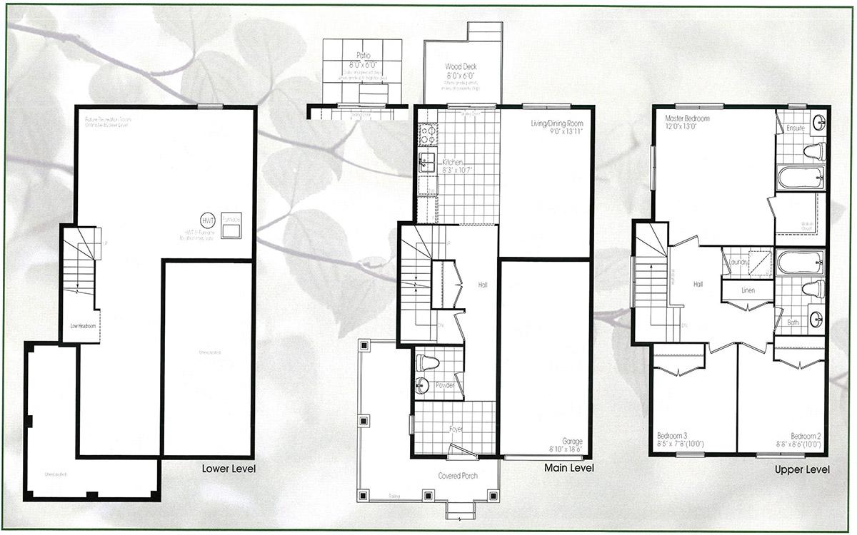 100 Laurel Floor Plan Independent Living Cleveland